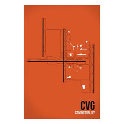 08 Left - 008 Left CVG - Covington/Cincinnati Metal Print - As good as it gets. Ready to hang. Absolutely stunning and tough as rocks.