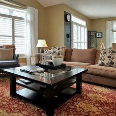 Contemporary Family Room by Somers & Company Interiors,  Gillian Somers