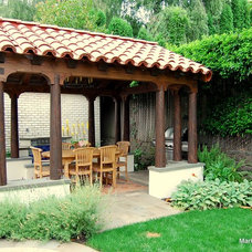 Mediterranean Patio by Mark Downing