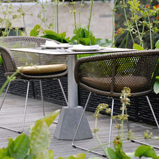 modern outdoor chairs by Lebello - Modern Outdoor Living