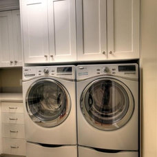 Traditional Laundry Room by Renovation Design Group