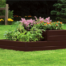 Contemporary Outdoor Pots And Planters by Walmart