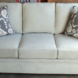 2013 Customer Custom Orders - Rowe Dalton Sofa at Barnett Furniture in Trussville / Birmingham Al.  You Choose the Fabric