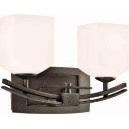 Kichler Lighting Brinbourne Bath 2 Light Anvil Iron 45262AVI - Item Number:45262AVI