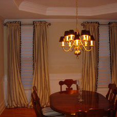 Window Treatments by carrie ricks interior design