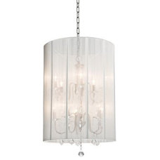 Eclectic Chandeliers by Euro Style Lighting