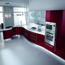 Contemporary Kitchen Cabinetry by ITALIAN KITCHEN CABINETS IN SAN DIEGO