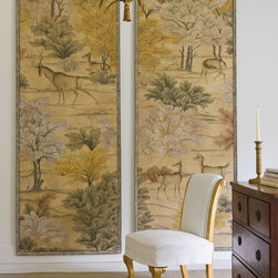 Gosford Panels - Paul Montgomery Gosford hand painted panels, framed as art panels. Made to order.