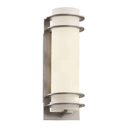 Trans Globe Lighting - Trans Globe Lighting 40205 SL Outdoor Wall Light In Silver - Part Number: 40205 SL