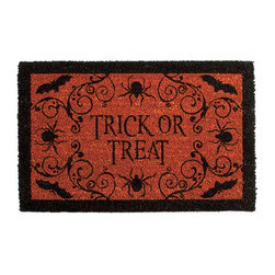 Halloween Coir Mat - This is the perfect door mat for those trick-or-treaters. I love its color and design.