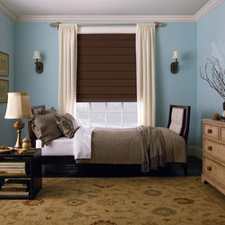 Levolor Hobbled Roman Shades - Levolor roman shades, the most luxurious and highest quality window coverings available. Our unique fabrics range from vibrant stripes and rich solids to beautiful patterns and rich textures, many that are only available from Levolor. These carefully selected textiles are designed to fit any lifestyle and decor taste, from traditional to contemporary and anywhere in between.