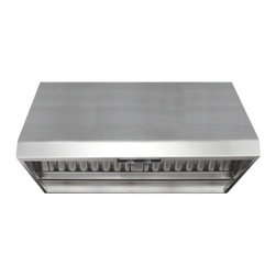 "Air King - Professional P1842 42"" Wall Mounted/Under Cabinet Range Hood with 300-1200 CFM - Air King offers a full line of range hood solutions to meet almost any kitchen ventilation need your home might have"