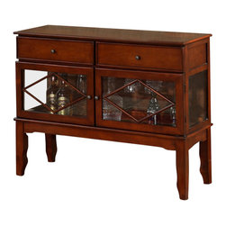 All Things Cedar - Buffet Cabinet - Classic Accents: A truly inviting selection of Classic Accent Furniture FEATURING Console Sofa Tables Wooden Wine Magazine Racks, Nesting Tables, and Glass Cherry Curio Cabinets. Item is made to order.