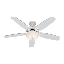 "Hunter Fan 21808 Builder Deluxe Fan With Light - Get 10% discount on your first order. Coupon code: ""houzz"". Order today."