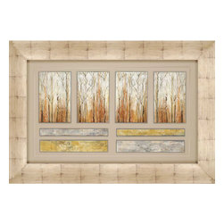 Paragon - Telluride - Framed Art - Each product is custom made upon order so there might be small variations from the picture displayed. No two pieces are exactly alike.