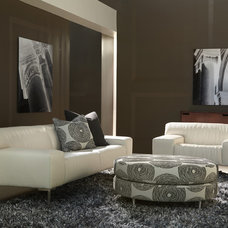Contemporary Living Room by eurofurniture