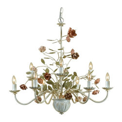 AF Lighting - AF Lighting Ramblin Rose 7165-9H Chandelier Multicolor - 7165-9H - Shop for Chandeliers from Hayneedle.com! About AF LightingAF Lighting has been among the leading manufacturers of impressive and distinctive lighting designs since 1987. Its goal is to maintain affordability and value even while offering you the latest in style and interior fashion. Headquartered in Pompano Beach Fla. AF Lighting has showrooms across the country and offers over 800 products through various furniture stores websites and interior designers. In 2005 AF Lighting partnered with Candice Olson of HGTV's Divine Design to produce an exclusive lighting collection personally designed by Candice. It's just one example of how AF Lighting is working to bring you the most up-to-date styles for your home.