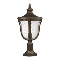 Elk Lighting - Elk Lighting 27003/1 Outdoor Post Light - Elk Lighting 27003/1 Outdoor Post Light