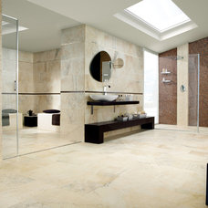 Contemporary Bathroom by Italics Tile & Stone