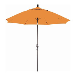 Phat Tommy - 9 Ft. Market Patio Umbrella in Tuscan - The Phat Tommy umbrella is part of our Outdoor Oasis Line. This will ensure your umbrella stays looking brand new, season after season.