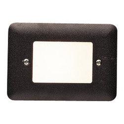 Kichler - Kichler 15780AZT Pure White 3000K Landscape LED Mini Step Light w/Acrylic Lens - Kichler 15780 LED Mini Step Light