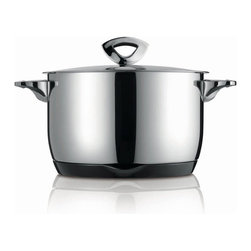 Kuhn Rikon - Kuhn Rikon Durotherm Swiss Thermal Cookware Stew/Stock Pot - Swiss precision work, technology and design are combined in these double walled thermal cookware from Kuhn Rikon. The new stay-cold handles and the practical magnetic heat-retaining base made from melamine bring the product to the state of the art with regard to quality.