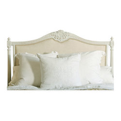 Louis XVI French Country Upholstered Headboard