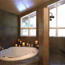Traditional Bathroom by Graham Simmons Architect and Builder