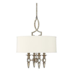 4 Light Petite Chandelier