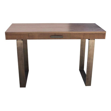 Home Office - Top built in solid domestic black walnut