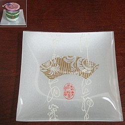 Artico - Pack of 4 Candle Plates with Ming Dynasty Chinese Stamped Design - This gorgeous Pack of 4 Candle Plates with Ming Dynasty Chinese Stamped Design has the finest details and highest quality you will find anywhere! Pack of 4 Candle Plates with Ming Dynasty Chinese Stamped Design is truly remarkable.