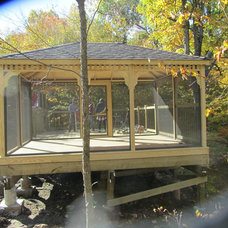 Traditional Gazebos by North Country Sheds