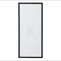 """Wood Gallery Oversized Mat Picture Frame, 5 x 5"""", White - Our museum-quality frame is sized to make a dramatic statement. Like all frames in our Wood Gallery collection, it's crafted of FSC-certified wood with solid hardwood borders and fine biscuit corners. For decorating ideas to transform your walls, {{link path='shop/accessories-decor/gallery-wall-ideas'}}click here{{/link}} to view our Wall Solutions Tool. Features archival-quality mats and built-in spacers. Plexiglas front. Wall mount only, either vertically and horizontally. Available in black, espresso, modern white and white. Modern White frame is bright white and comes with a white mat. White frame is antique white and comes with an eggshell-color mat. View and print our gallery frames style guide, {{link path='/pages/popups/Gallery_Frames.html'}}click here{{/link}}."""