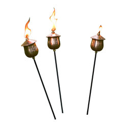 Mini Copper Torches Set