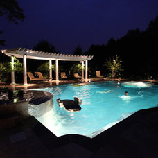 Mediterranean Pool by SPLASH pool design by Brian T. Stratton