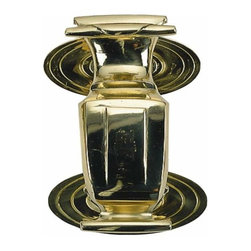Brass Accents - Brass Accents Doctors Door Knocker - 6 1/2 Inch Polished Brass A07-K5200 - Brass Accents Doctors Knocker - 6 1/2 Inch