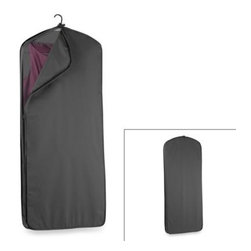 Wallybags - WallyBags 52-Inch Dress Length Garment Cover - Protect your clothes while on the go with a Wally garment cover. This one is designed to keep your clothes neat and wrinkle-free while traveling.