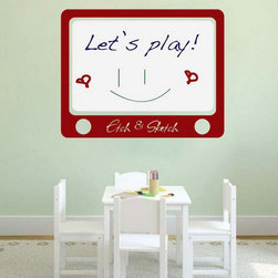 Dry Erase Wall Decals - These are the best Dry Erase Decals available on the market. They are easy to install and reposition.