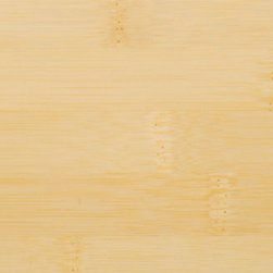 Classic Natural Horizontal Bamboo Flooring - The horizontal pattern in this flooring features a wide grain with clearly identifiable bamboo nodes. The fresh, natural blond tone adds light to any room.