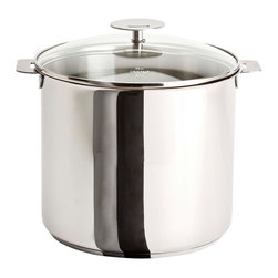 Cristel - Cristel Casteline Stainless Steel Stock Pot, 9.9 quart - If you can't stand the heat, get this stock pot. A stainless steel essential, it's got a convenient removable handle. Plus its 9.9-quart capacity virtually assures delicious leftovers.
