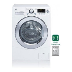 LG - WM1355HW Compact Front Load Washer with 2.3 cu. ft. Capacity  9 Washing Cycles - As a leader in smart technology and stylish design LG introduces a new 24 compact washer Perfect for apartments condos or small spaces