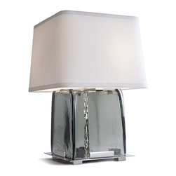 London Table Lamp - Wiring: 2 Medium-base sockets with pull chains and HI/lo switch, 60 watt max each.