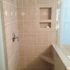 Traditional Bathroom by Laying It Down Inc.