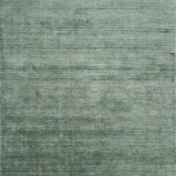 Jaipur - Shag Lustre 9'x13' Rectangle Mineral Area Rug - The Lustre area rug Collection offers an affordable assortment of Shag stylings. Lustre features a blend of natural Mineral color. Handmade of 100% Handspun Bamboo Silk the Lustre Collection is an intriguing compliment to any decor.