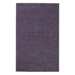Capel - Contemporary Rim 10'x13' Rectangle Light Purple Area Rug - The Rim area rug Collection offers an affordable assortment of Contemporary stylings. Rim features a blend of natural Persimmon color. Hand Tufted of 90% Polyester  10% Acrylic the Rim Collection is an intriguing compliment to any decor.