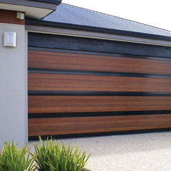 contemporary garage and shed by All Access Garage Doors