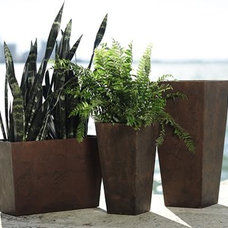 modern outdoor planters by Home Decorators Collection