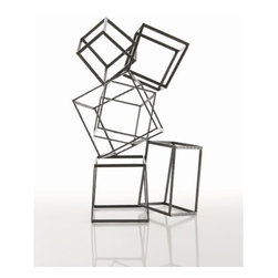 "Arteriors - Arteriors Home - Mondrian Iron Sculpture - 6088 - Arteriors Home - Mondrian Iron Sculpture - 6088 Features: Mondrian Collection SculptureIron FinishMondrian sculptureNatural iron construction Some Assembly Required. Dimensions: 20"" W X 14"" D X 32"" H"