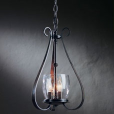 Candles And Candleholders Sweeping Taper Three Arms And Candle Cluster Chandelier by Hubbardton Forge