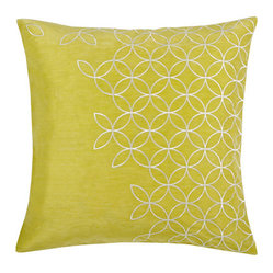 Latham Yellow Pillow, Set of 2